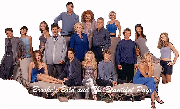 Cast from The Bold and The Beautiful