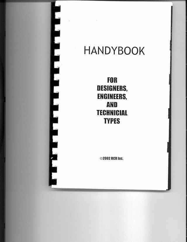 Handybook - chock full of practical information